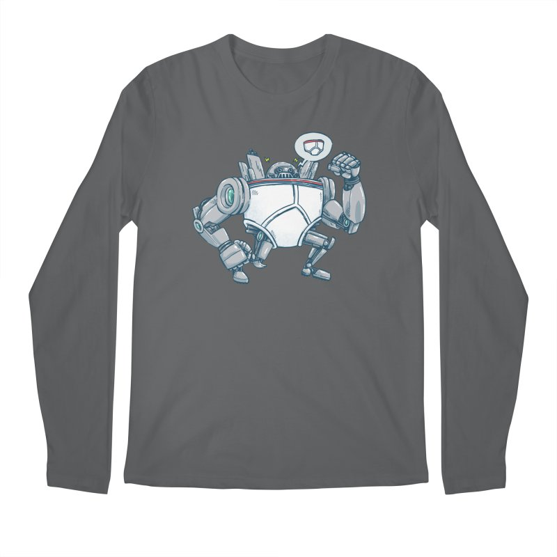 Uber UnderwearBot Men's Regular Longsleeve T-Shirt by nickv47