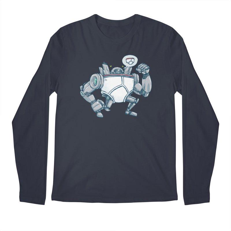 Uber UnderwearBot Men's Regular Longsleeve T-Shirt by nickv47
