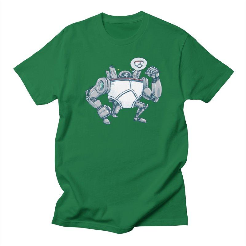 Uber UnderwearBot Men's Regular T-Shirt by nickv47