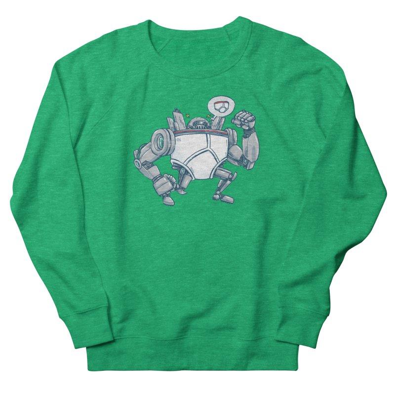 Uber UnderwearBot Women's Sweatshirt by nickv47