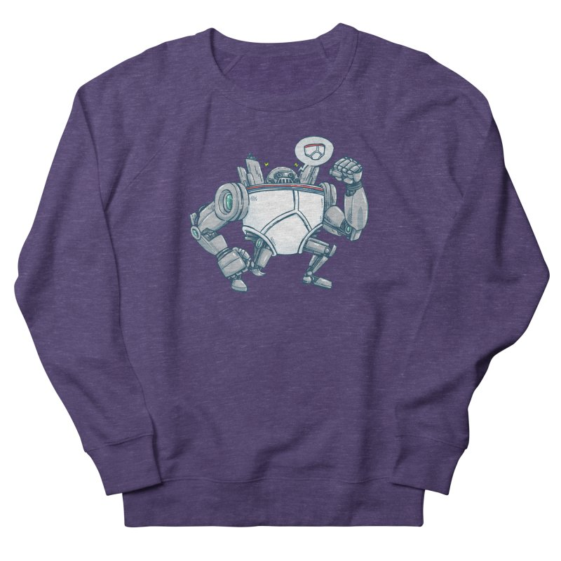 Uber UnderwearBot Women's French Terry Sweatshirt by nickv47