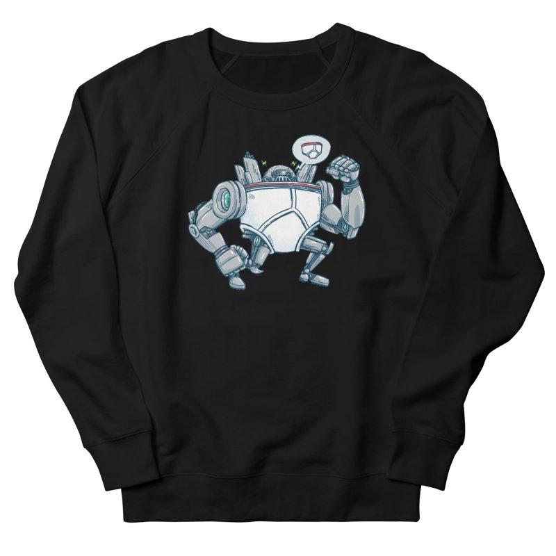 Uber UnderwearBot Women's French Terry Sweatshirt by nickv47