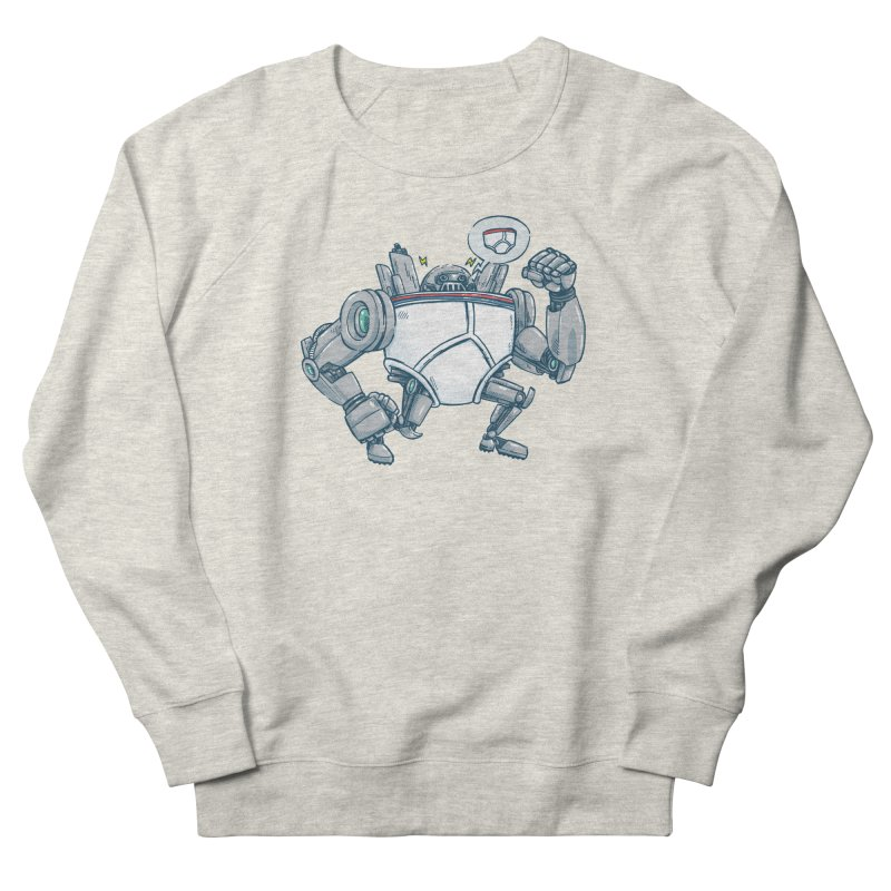 Uber UnderwearBot Men's French Terry Sweatshirt by nickv47