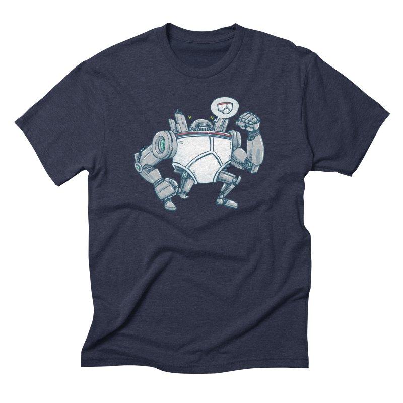 Uber UnderwearBot Men's Triblend T-Shirt by nickv47