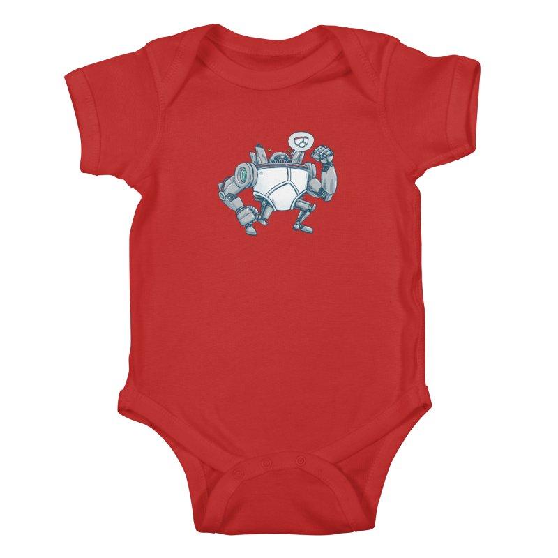 Uber UnderwearBot Kids Baby Bodysuit by nickv47