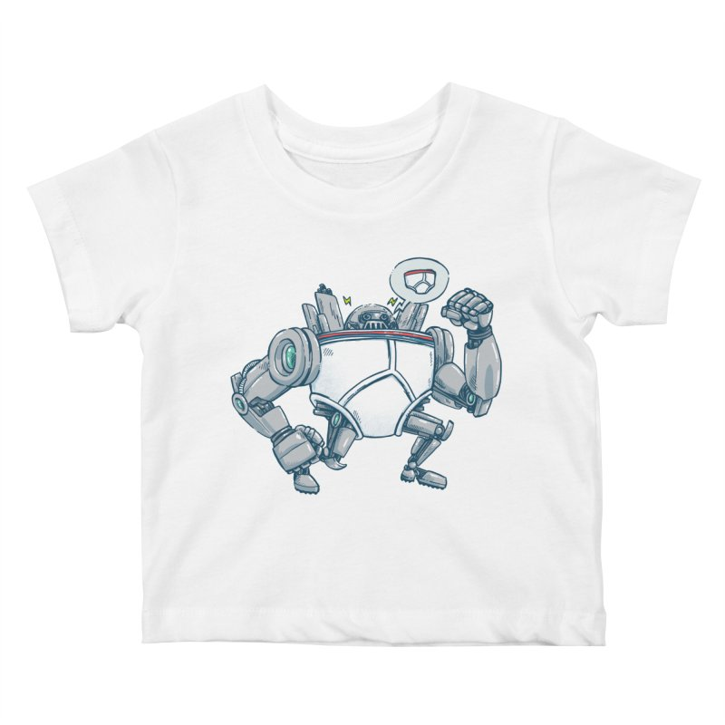 Uber UnderwearBot Kids Baby T-Shirt by nickv47