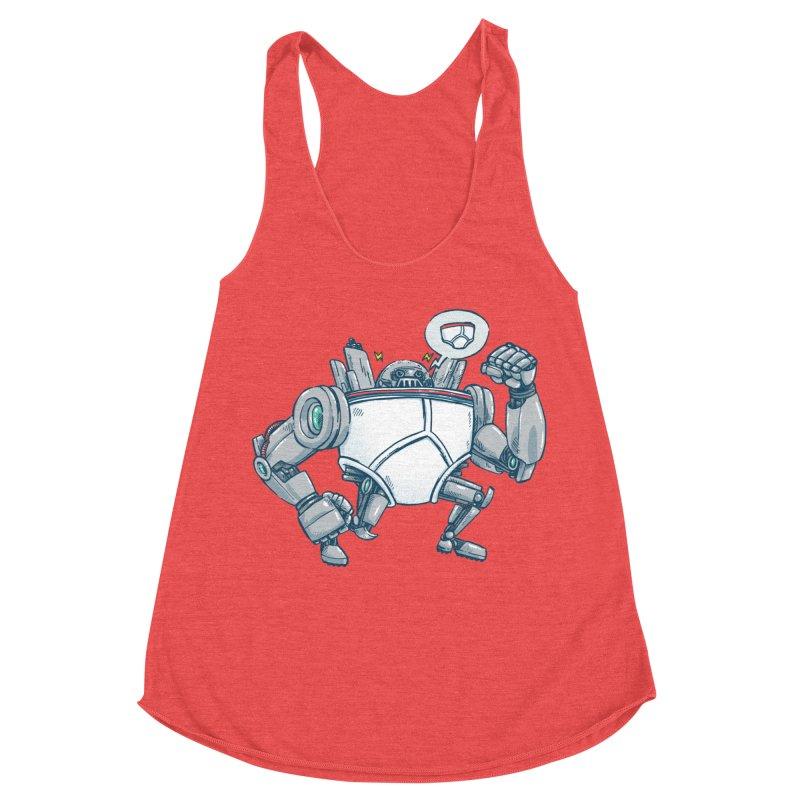 Uber UnderwearBot Women's Tank by nickv47