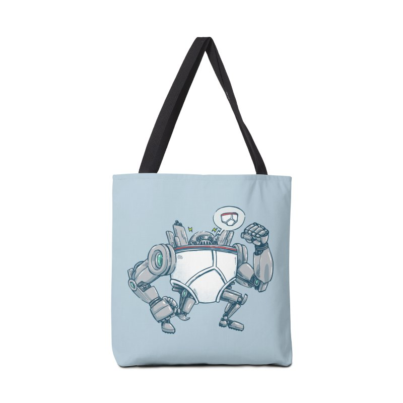 Uber UnderwearBot Accessories Tote Bag Bag by nickv47