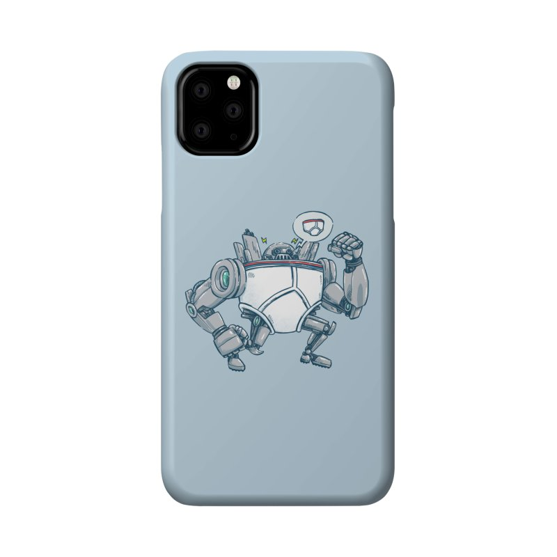 Uber UnderwearBot Accessories Phone Case by nickv47
