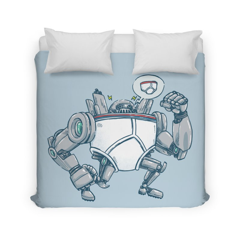 Uber UnderwearBot Home Duvet by nickv47