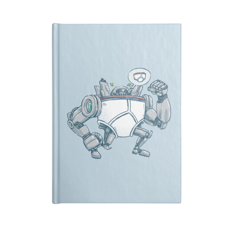 Uber UnderwearBot Accessories Blank Journal Notebook by nickv47