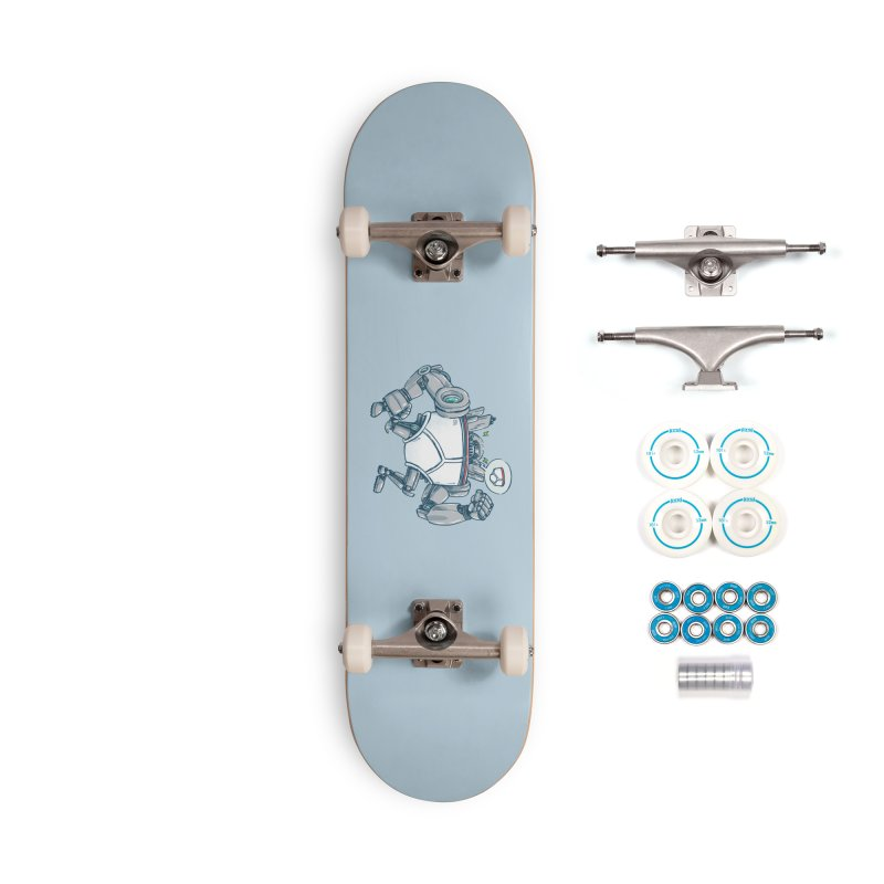 Uber UnderwearBot Accessories Complete - Basic Skateboard by nickv47