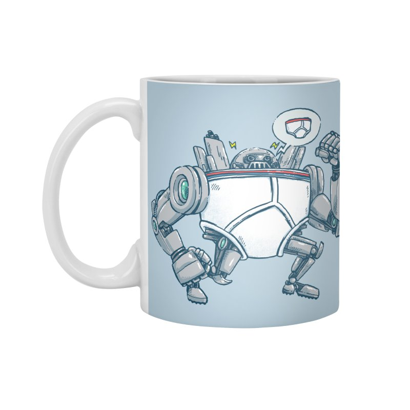 Uber UnderwearBot Accessories Standard Mug by nickv47