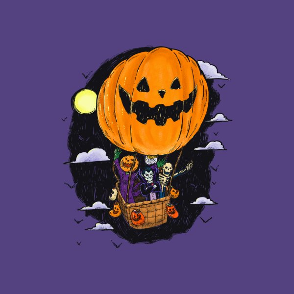 image for Pumpkin Hot Air Balloon