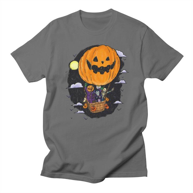 Pumpkin Hot Air Balloon Men's T-Shirt by nickv47