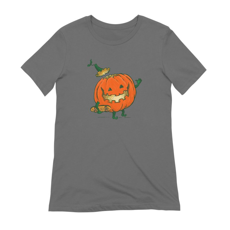 Skatedeck Pumpkin Women's T-Shirt by nickv47