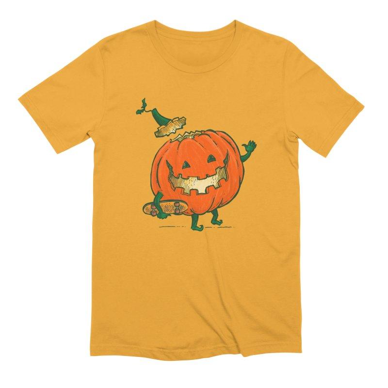 Skatedeck Pumpkin Men's Extra Soft T-Shirt by nickv47