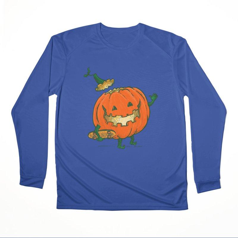 Skatedeck Pumpkin Men's Performance Longsleeve T-Shirt by nickv47