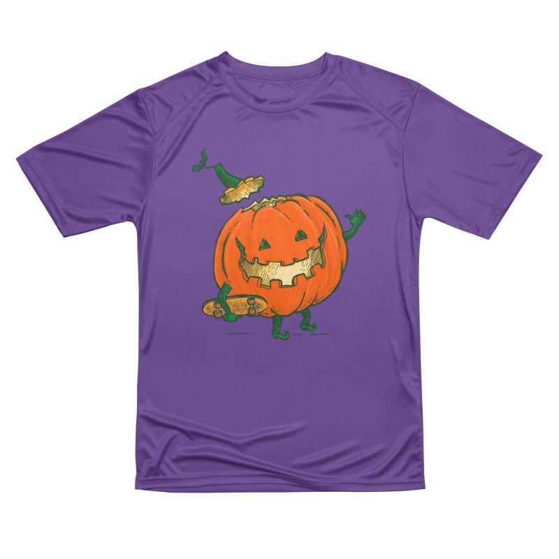 Skatedeck Pumpkin Women's Performance Unisex T-Shirt by nickv47
