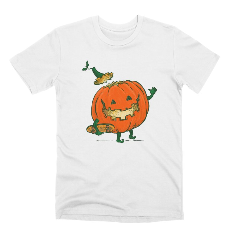 Skatedeck Pumpkin Men's Premium T-Shirt by nickv47