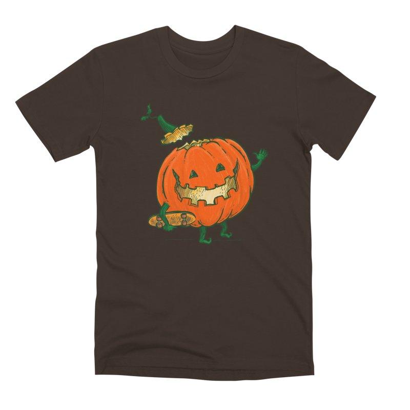 Skatedeck Pumpkin Men's Premium T-Shirt by nickv47