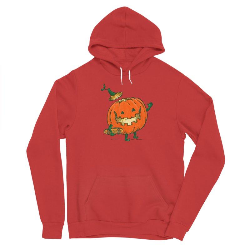 Skatedeck Pumpkin Women's Pullover Hoody by nickv47