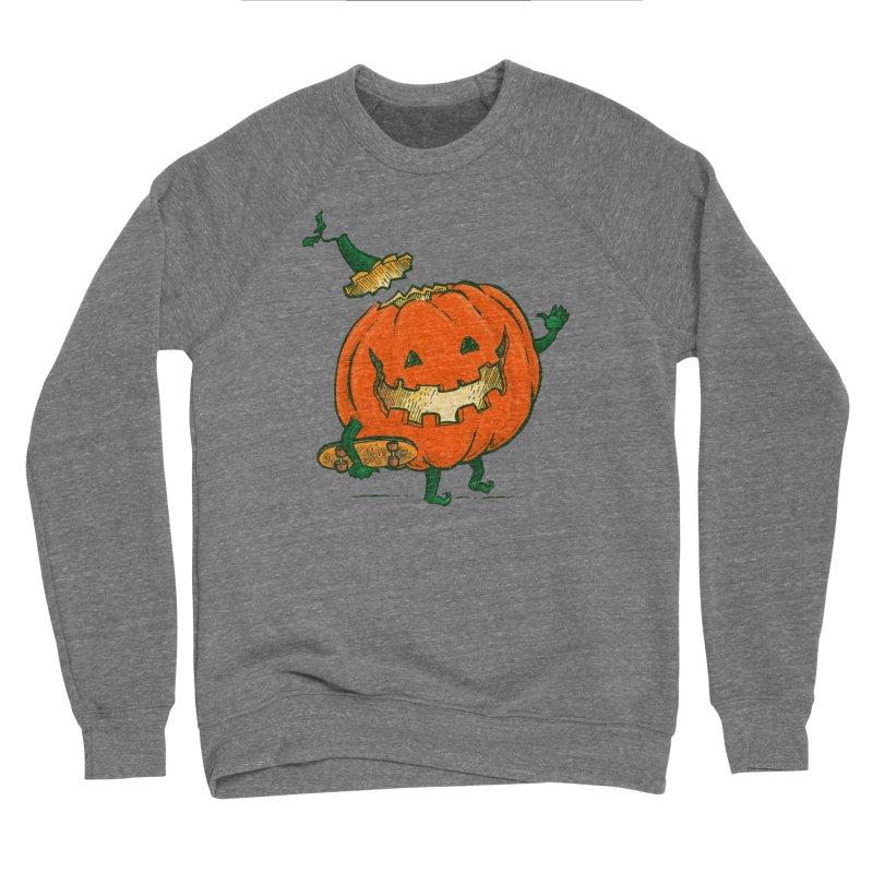 Skatedeck Pumpkin Men's Sponge Fleece Sweatshirt by nickv47