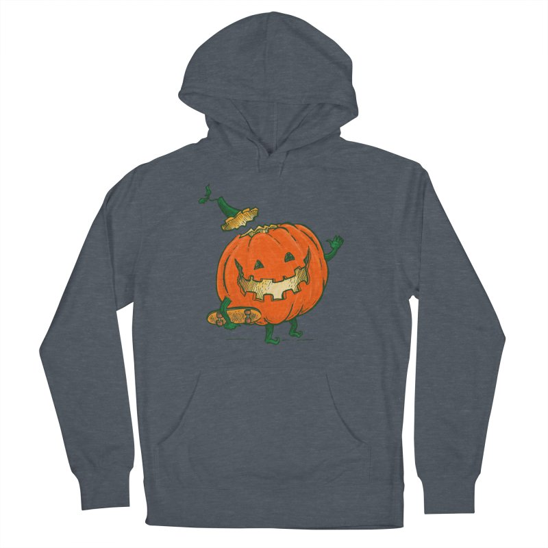 Skatedeck Pumpkin Women's French Terry Pullover Hoody by nickv47