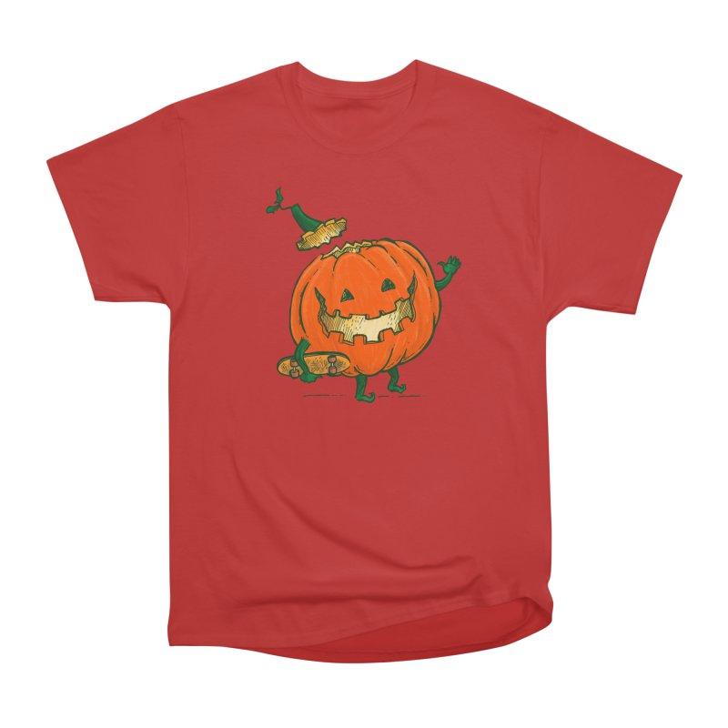 Skatedeck Pumpkin Women's Heavyweight Unisex T-Shirt by nickv47