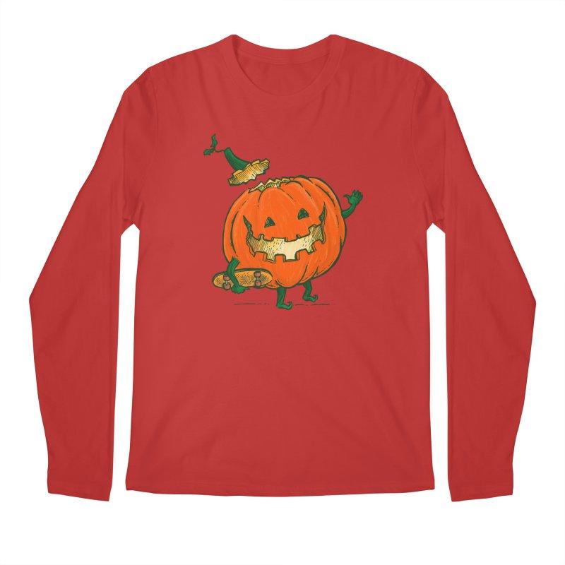Skatedeck Pumpkin Men's Regular Longsleeve T-Shirt by nickv47