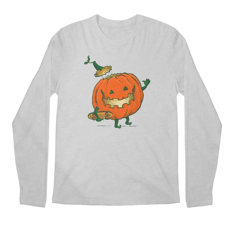 Skatedeck Pumpkin Men's Regular Longsleeve T-Shirt by nickv47