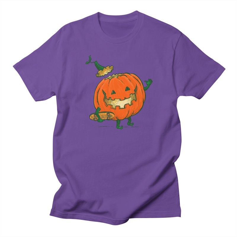 Skatedeck Pumpkin Men's Regular T-Shirt by nickv47