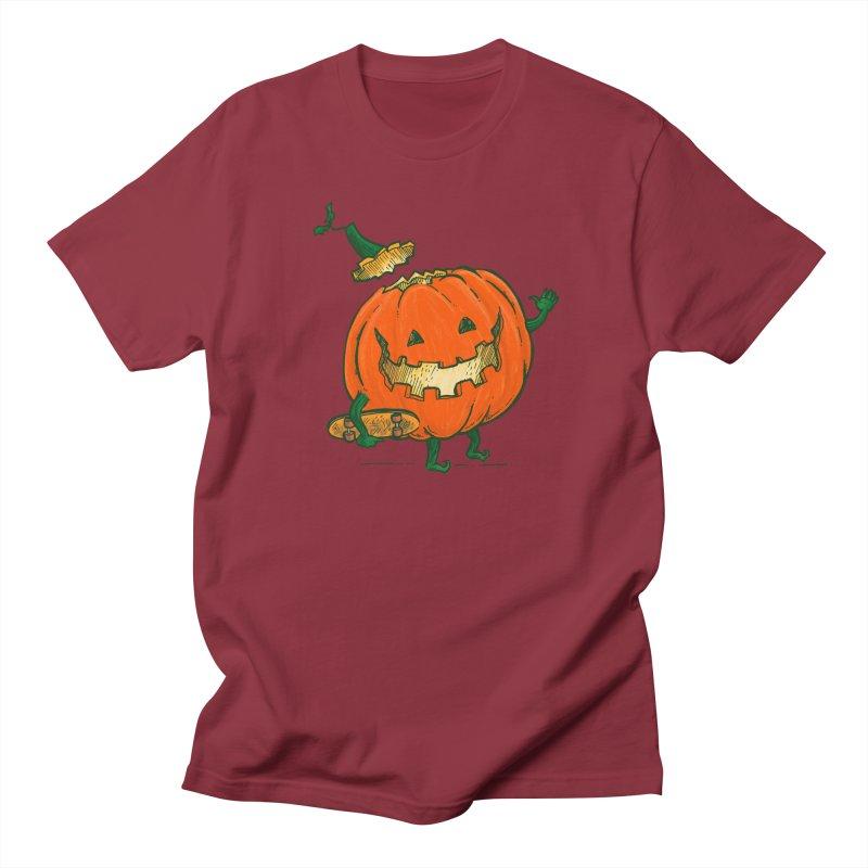 Skatedeck Pumpkin Women's Regular Unisex T-Shirt by nickv47
