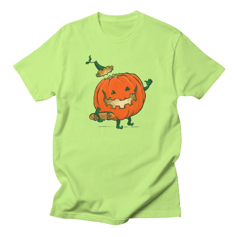 Skatedeck Pumpkin Men's Regular T-Shirt by nickv47