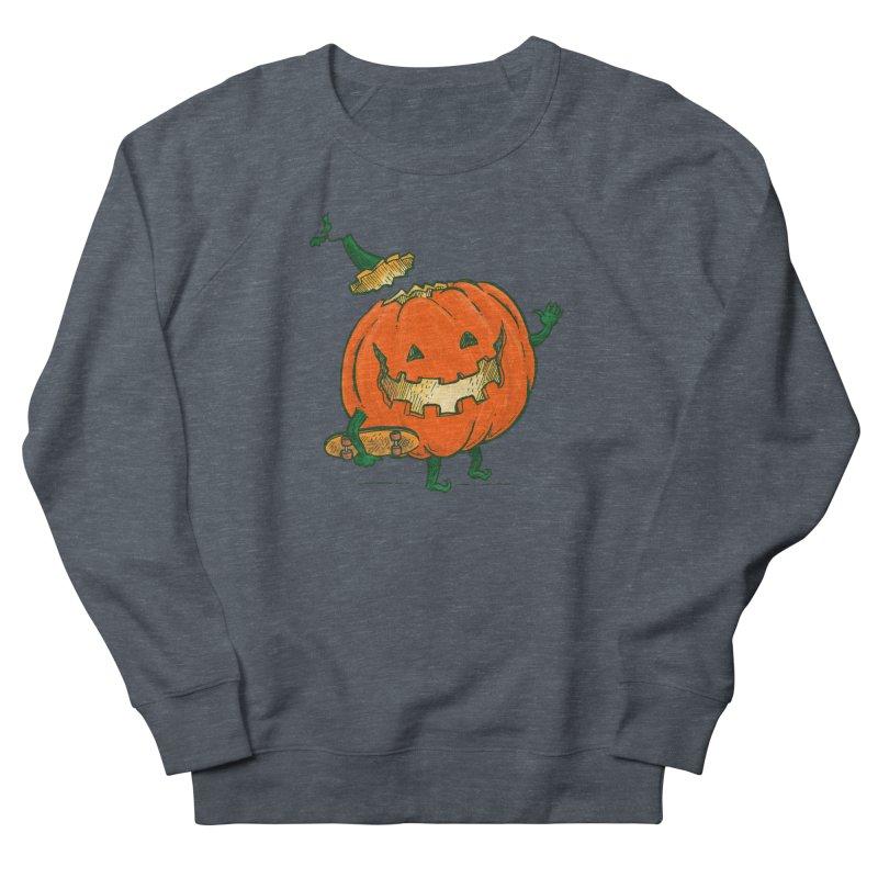 Skatedeck Pumpkin Men's French Terry Sweatshirt by nickv47