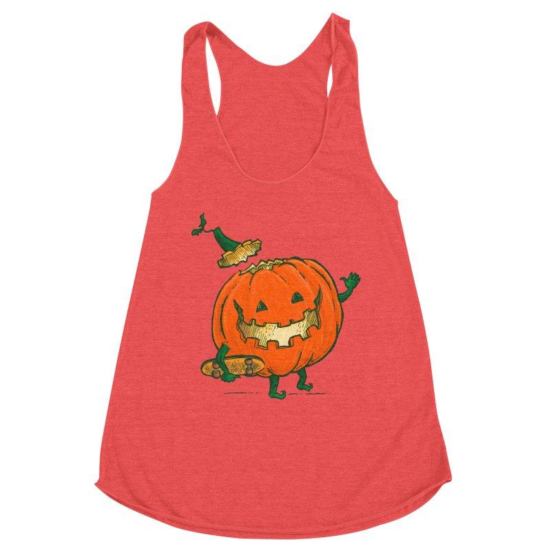 Skatedeck Pumpkin Women's Tank by nickv47