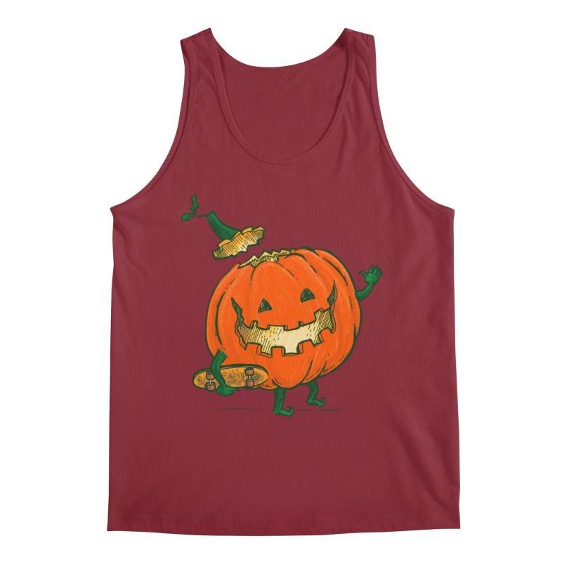Skatedeck Pumpkin Men's Regular Tank by nickv47
