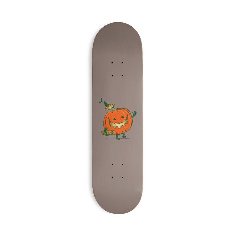 Skatedeck Pumpkin Accessories Deck Only Skateboard by nickv47