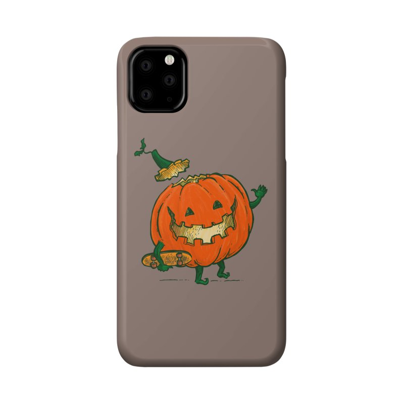 Skatedeck Pumpkin Accessories Phone Case by nickv47
