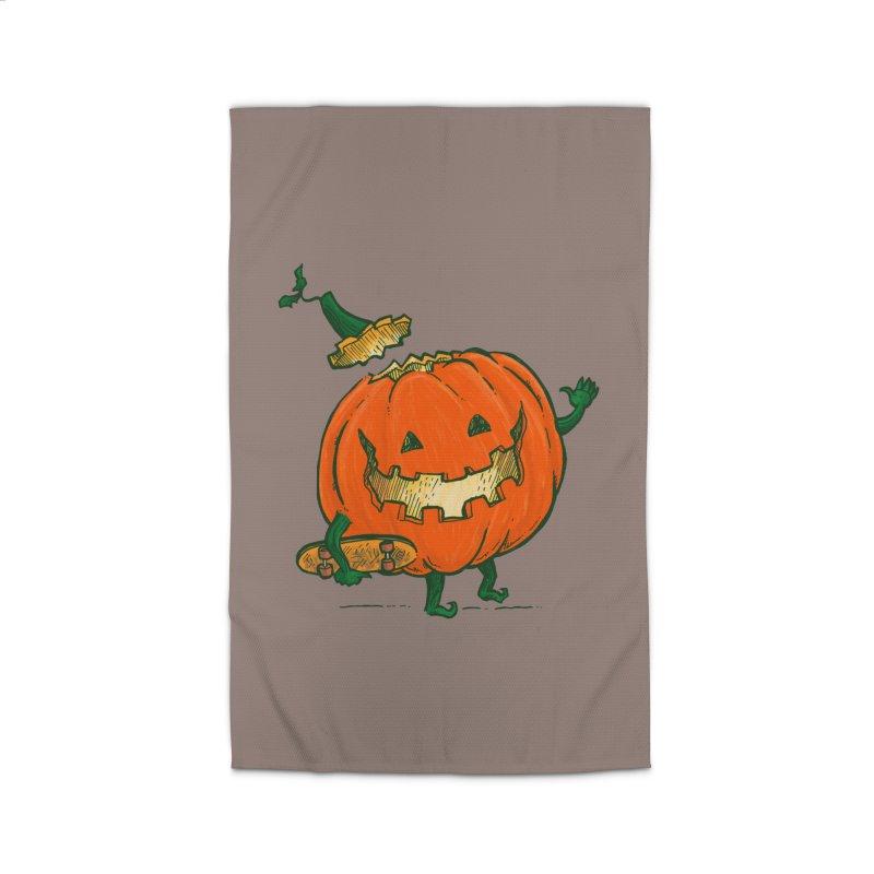 Skatedeck Pumpkin Home Rug by nickv47