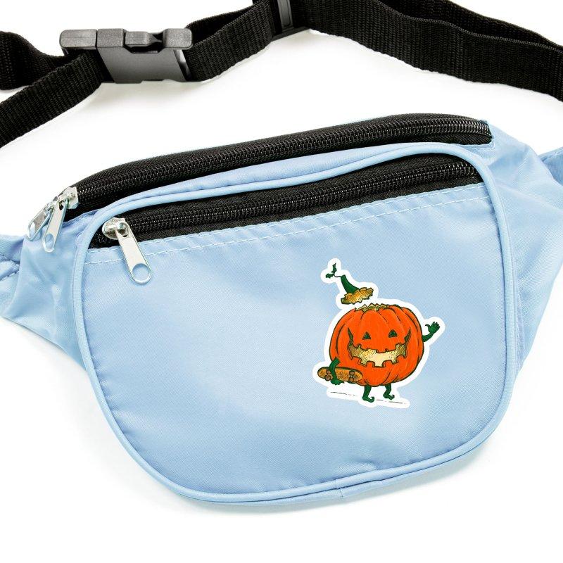 Skatedeck Pumpkin Accessories Sticker by nickv47