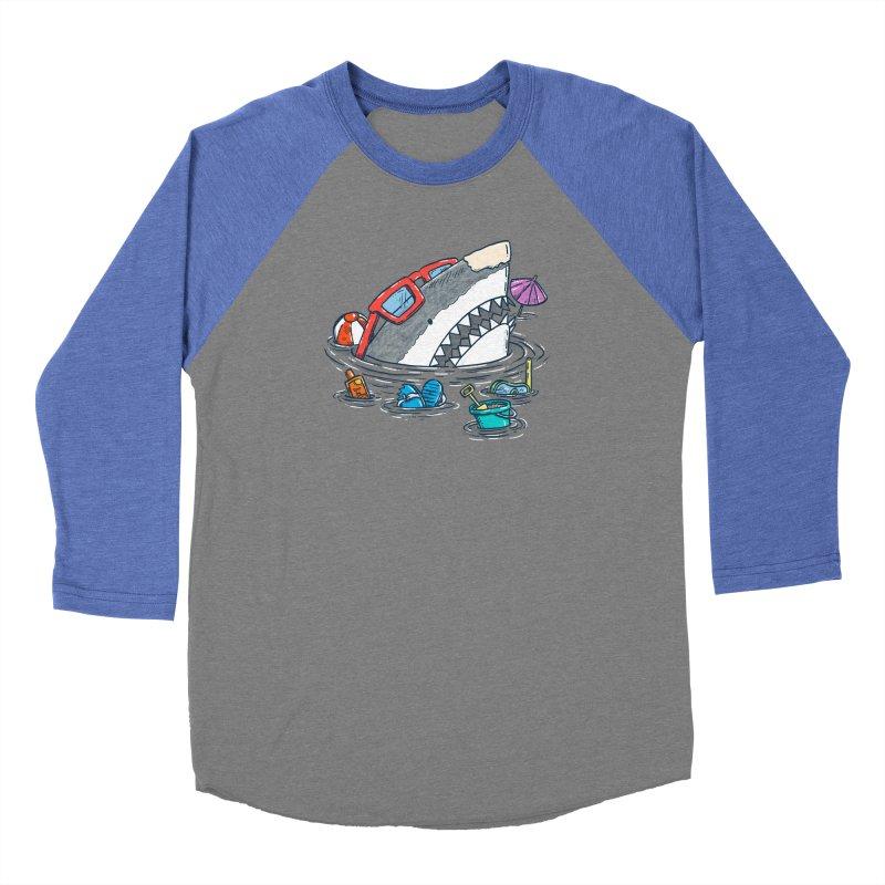 Beach Party Shark Women's Longsleeve T-Shirt by nickv47