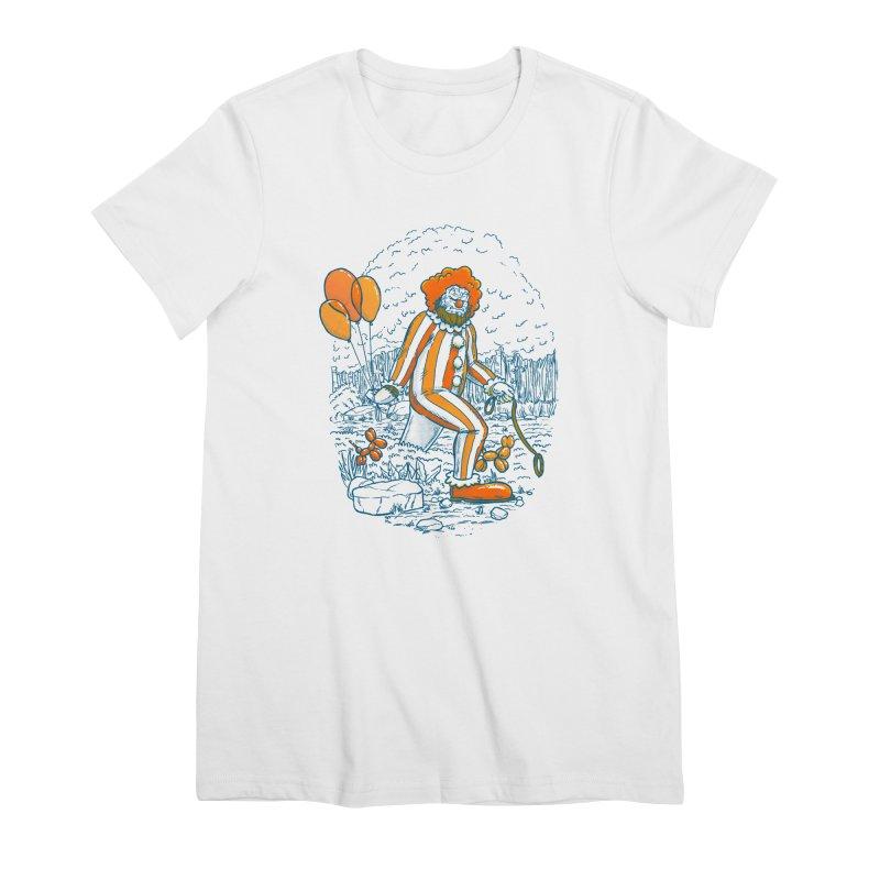 Clownfoot Women's Premium T-Shirt by nickv47