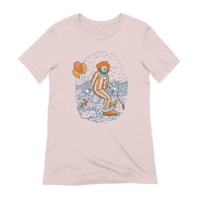 Clownfoot Women's Extra Soft T-Shirt by nickv47