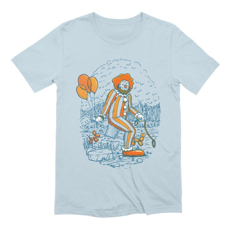 Clownfoot Men's Extra Soft T-Shirt by nickv47