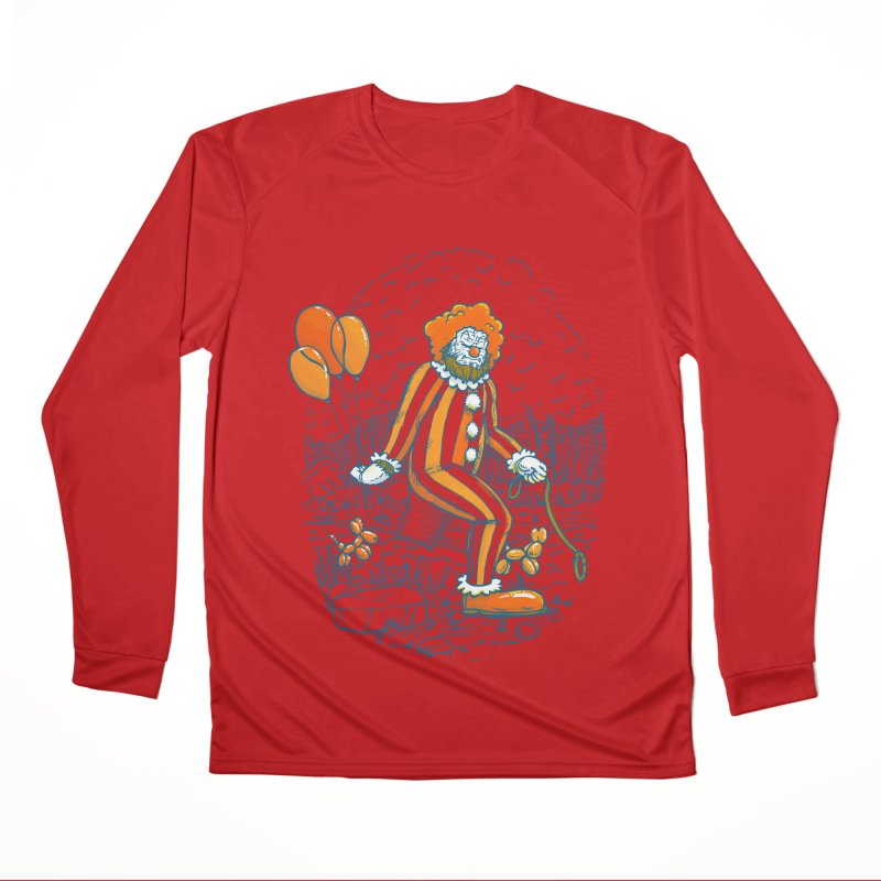 Clownfoot Women's Performance Unisex Longsleeve T-Shirt by nickv47