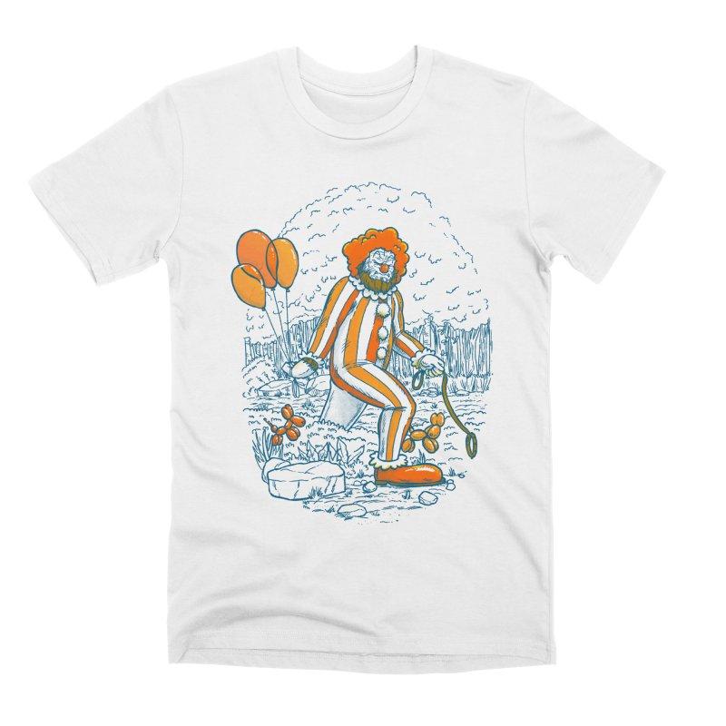 Clownfoot Men's Premium T-Shirt by nickv47