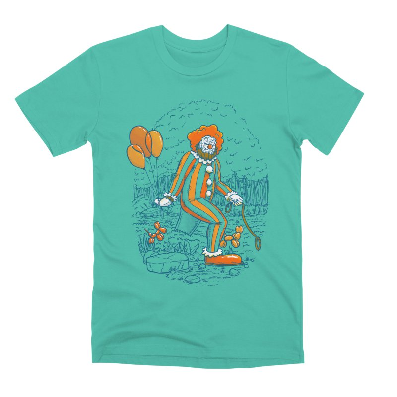 Clownfoot Men's Premium T-Shirt by nickv47