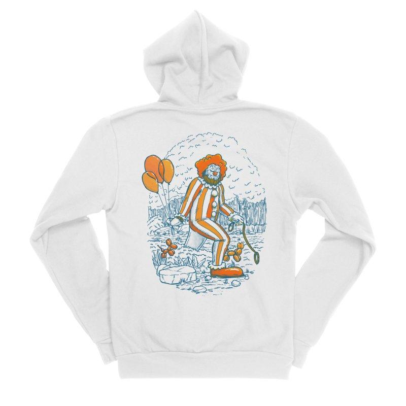 Clownfoot Men's Sponge Fleece Zip-Up Hoody by nickv47