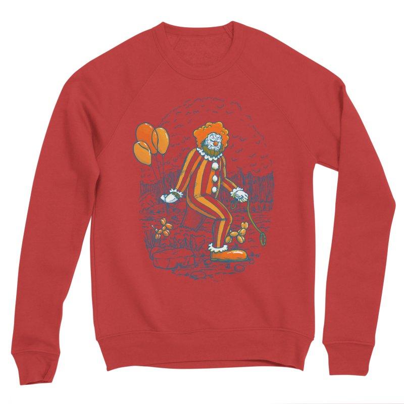 Clownfoot Men's Sponge Fleece Sweatshirt by nickv47